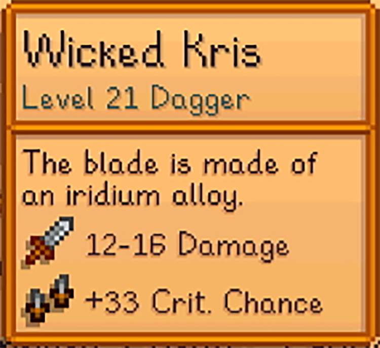 Angel's Weapons Rebalance Mod for Stardew Valley
