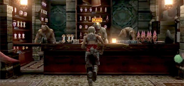 Batahn's Rabanastre Shop Interior / FFXII The Zodiac Age