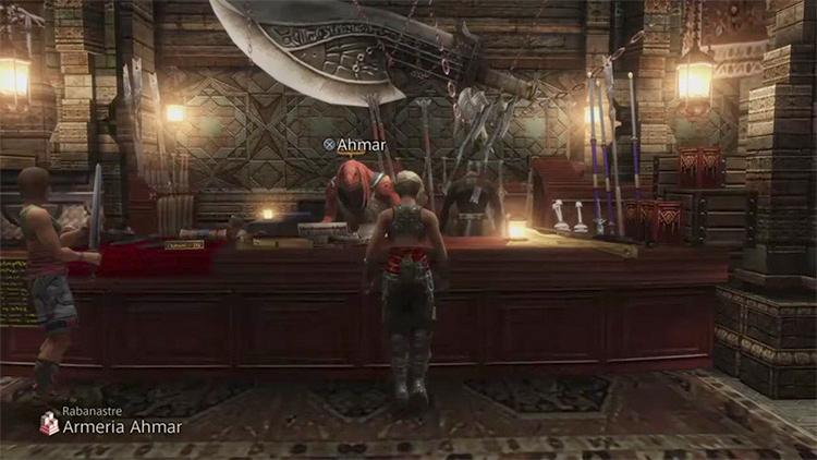 Rabanastre Shop in Final Fantasy XII: The Zodiac Age screenshot
