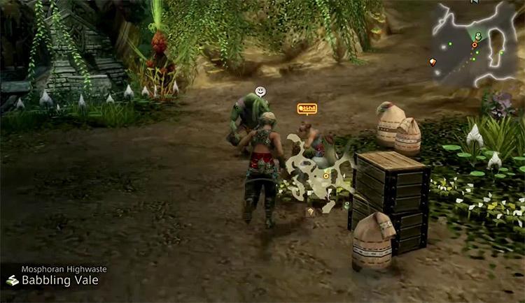 Mosphoran Highwaste Shop in Final Fantasy XII: The Zodiac Age screenshot