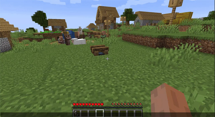 Healing Campfire mod for Minecraft