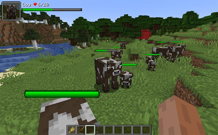 Torohealth Damage Indicators Minecraft mod
