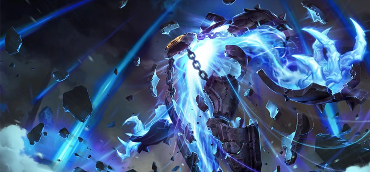 Xerath Default Splash Art / Credit Riot Games