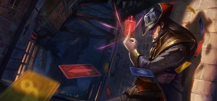 Twisted Fate Default Splash / Credit Riot Games