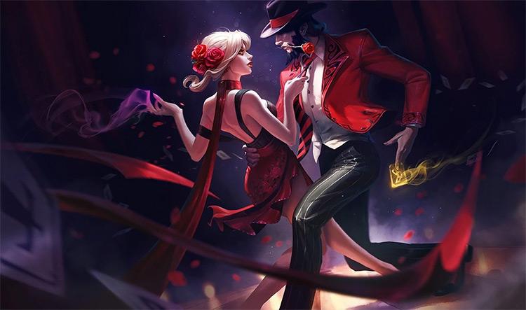 Tango Twisted Fate Splash / LoL