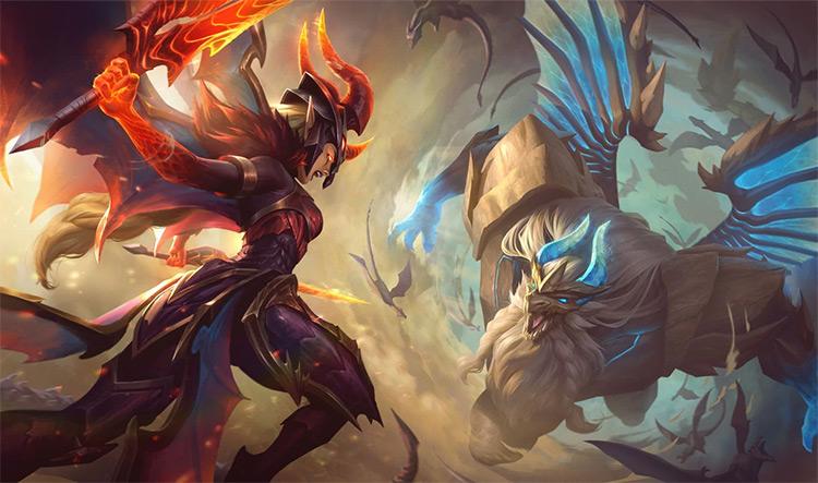 Dragon Guardian Galio Skin Splash / LoL