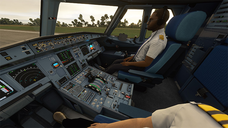 Working Visible Copilot mod for Microsoft Flight Simulator
