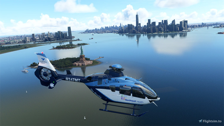 Airbus H135 Helicopter mod for Microsoft Flight Simulator