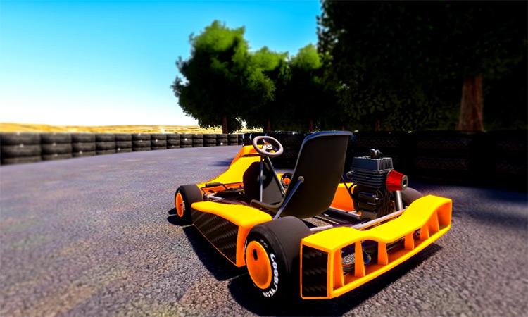 Go Kart mod for Microsoft Flight Simulator