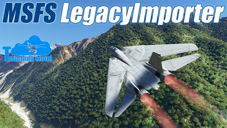 MSFS Legacy Importer mod for Microsoft Flight Simulator
