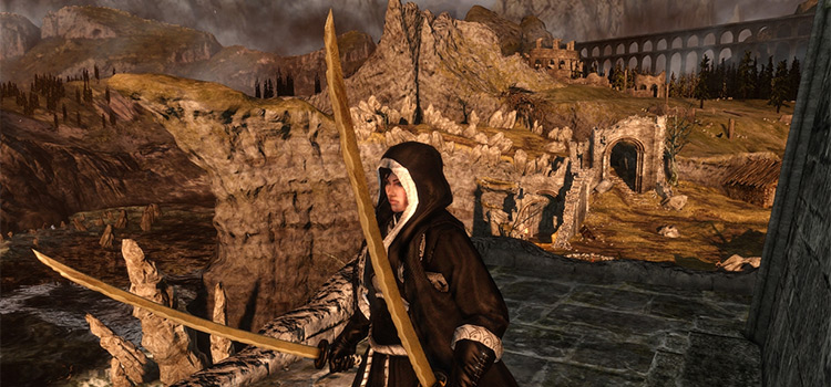 Dual Wield Manslayer Weapon in DS2 (Mod Preview)