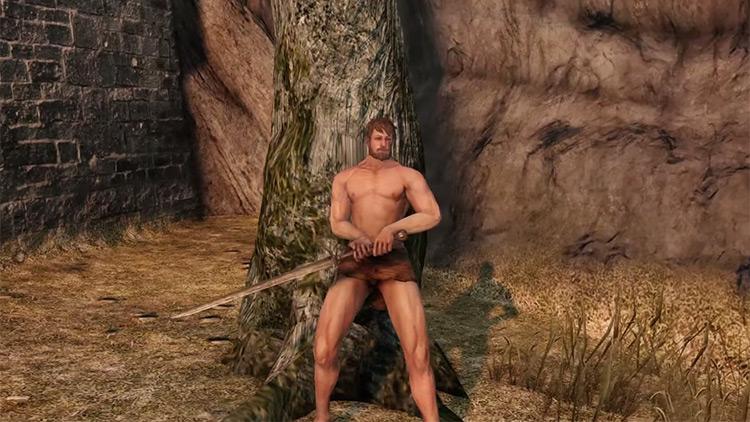Dark Souls 2 Heide Knight Sword screenshot