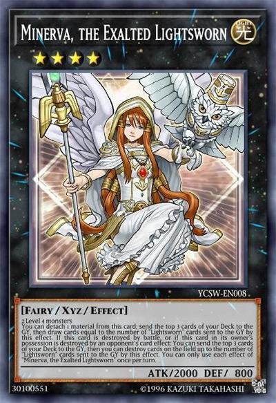 Minerva, The Exalted Lightsworn Yu-Gi-Oh Card