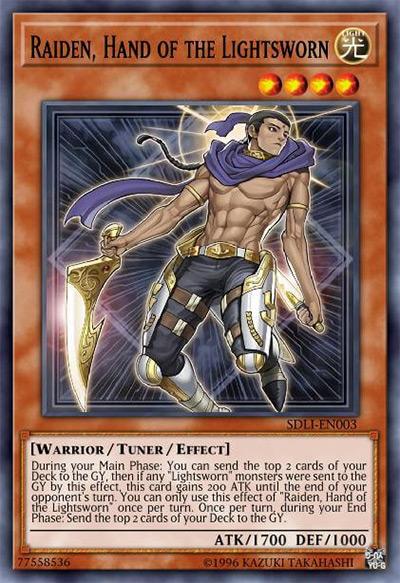 Raiden, Hand of the Lightsworn Yu-Gi-Oh Card