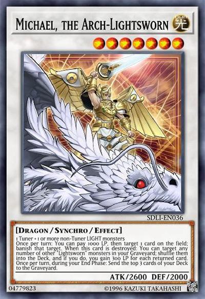 Michael, The Arch-Lightsworn Yu-Gi-Oh Card