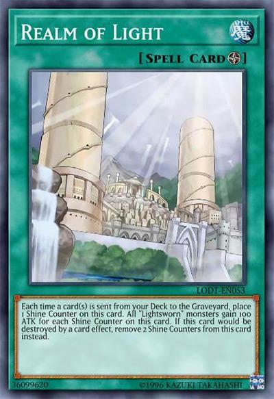 Realm of Light Yu-Gi-Oh Card