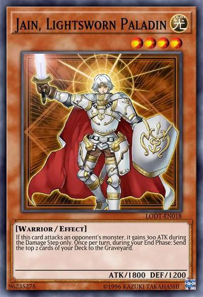 Jain, Lightsworn Paladin Yu-Gi-Oh Card