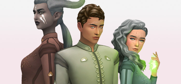 Dragon Age Inquisition CC Preview (The Sims 4)