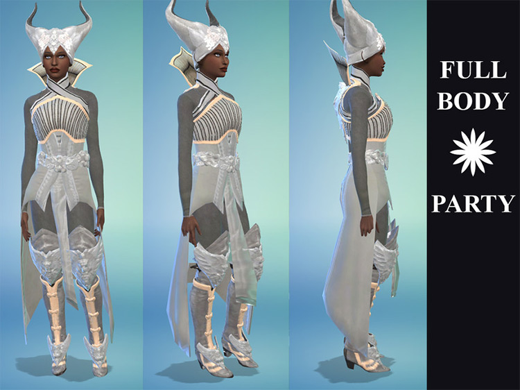 Orlesian Battledress CC for The Sims 4