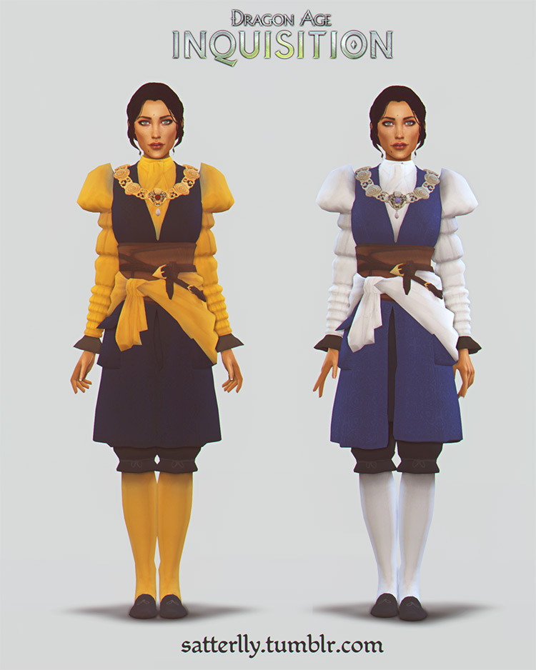 Josephine Outfit / Sims 4 CC