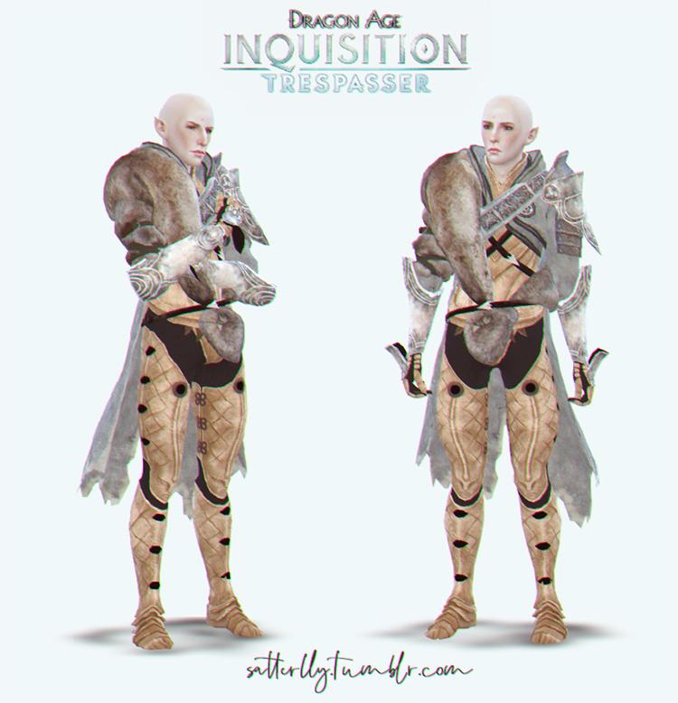 Solas' Tresspasser Outfit / Sims 4 CC