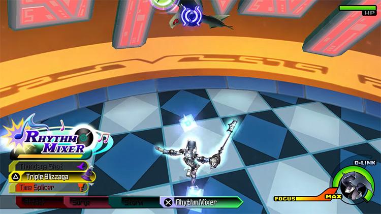 Mirage Arena: Arena Mode / KH Birth by Sleep screenshot