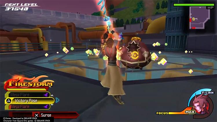 Victory Pose Battles (KH:BbS) screenshot