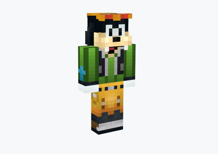 Goofy from Kingdom Hearts / Minecraft Skin