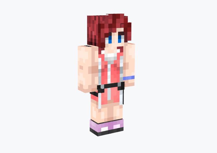 Kairi's Outfit in KH2 / Minecraft Skin