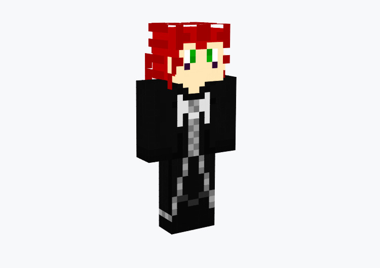 Axel from KH2 / Minecraft Skin