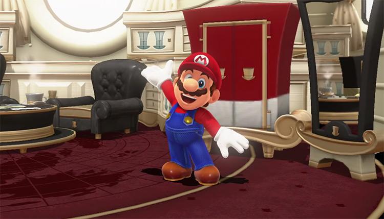 Mario from Mario Odyssey screenshot