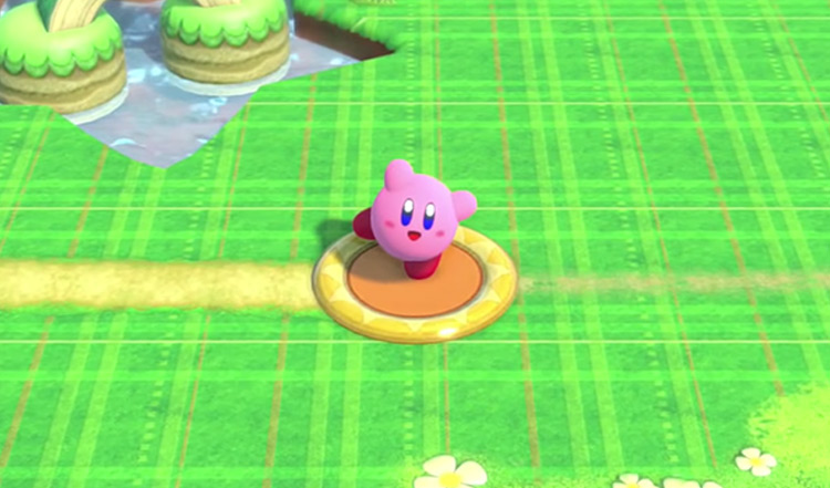 Kirby from Kirby Star Allies screenshot