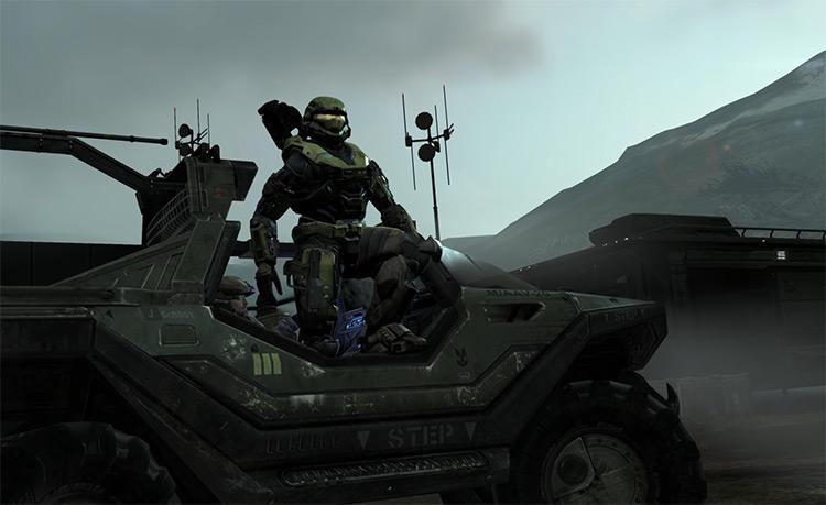 Master Chief from Halo screenshot