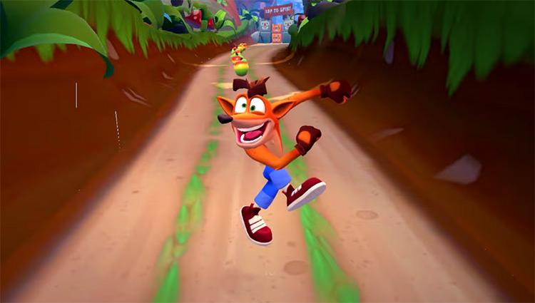 Crash Bandicoot: On The Run screenshot