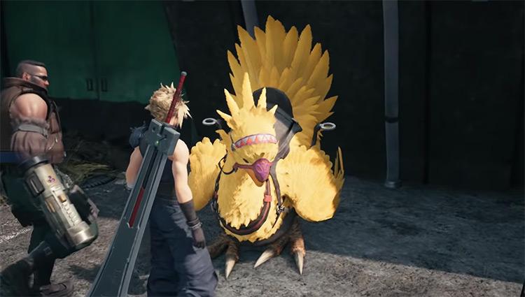 Chocobo form Final Fantasy VII