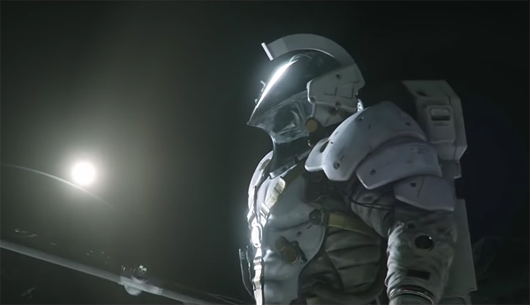 Ludens from Kojima Productions logo movie