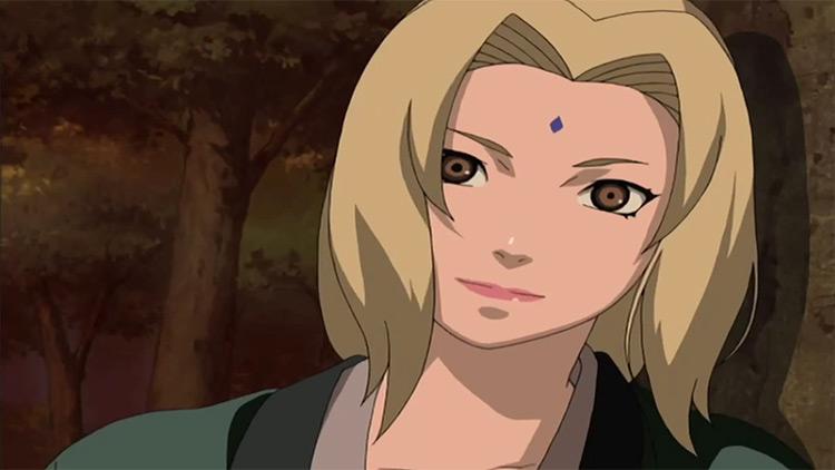 Tsunade / Naruto Anime Screenshot Closeup