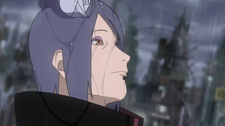 Konan from Naruto Anime