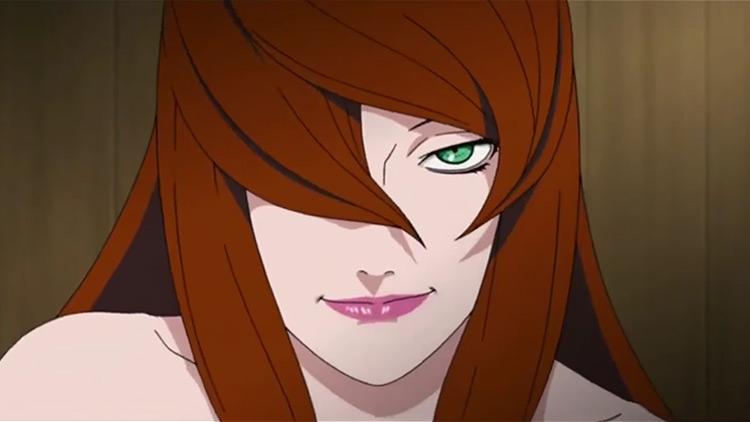 Mei Terumi Anime Screenshot (Naruto)