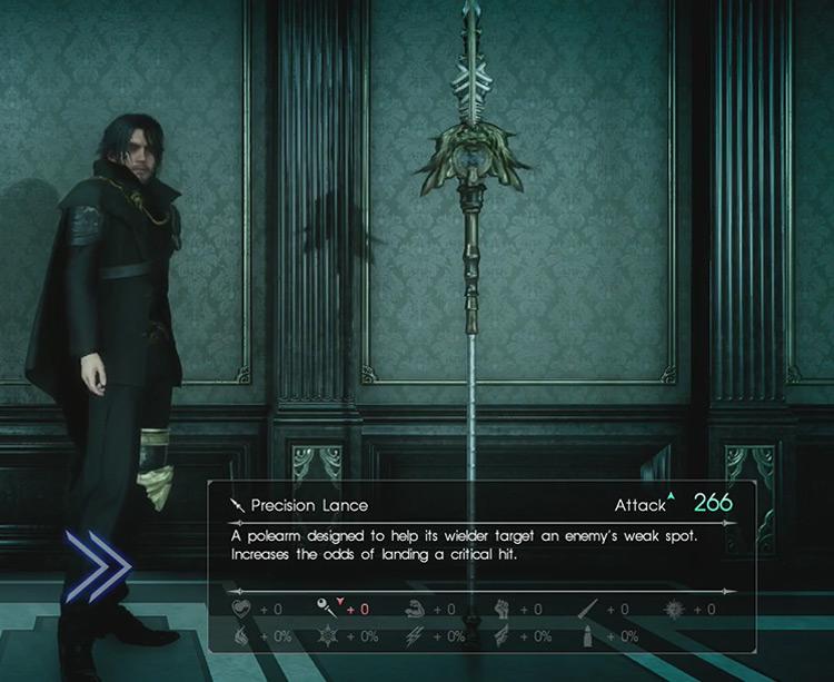FFXV Precision Lance screenshot