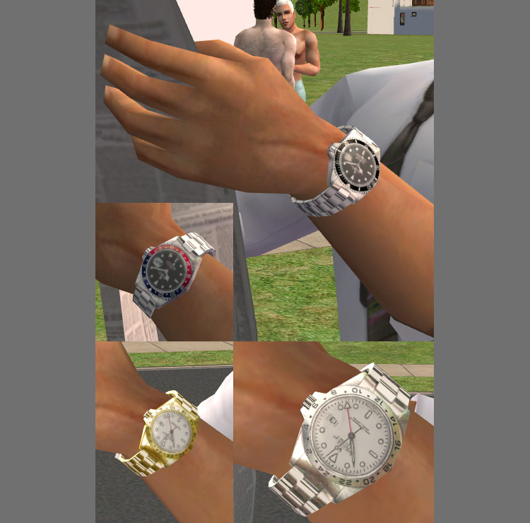 Accessory Rolex Watches / Sims 4 CC