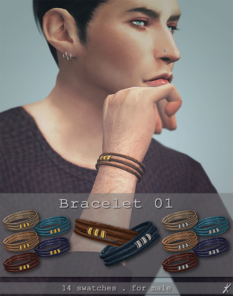 Quirky Kyimu Bracelet for The Sims 4
