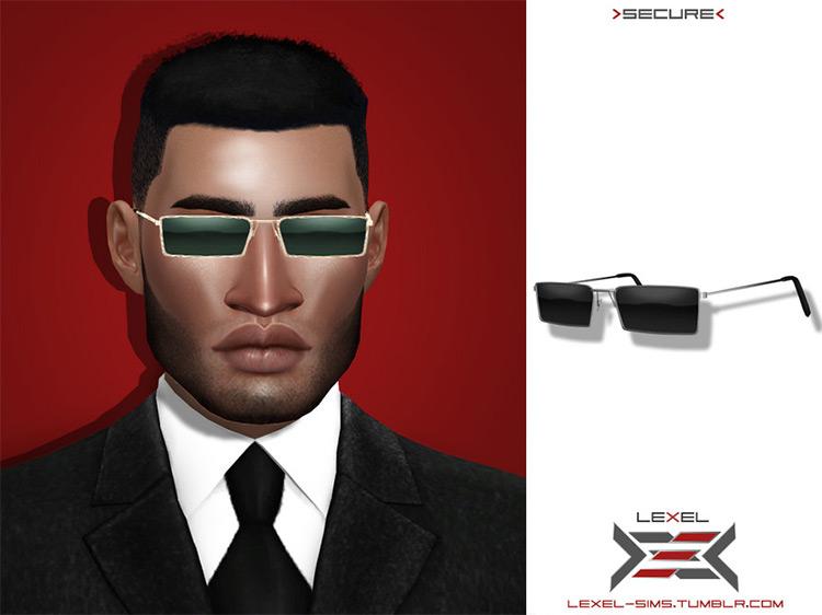 Lexel Secure Glasses / Sims 4 CC