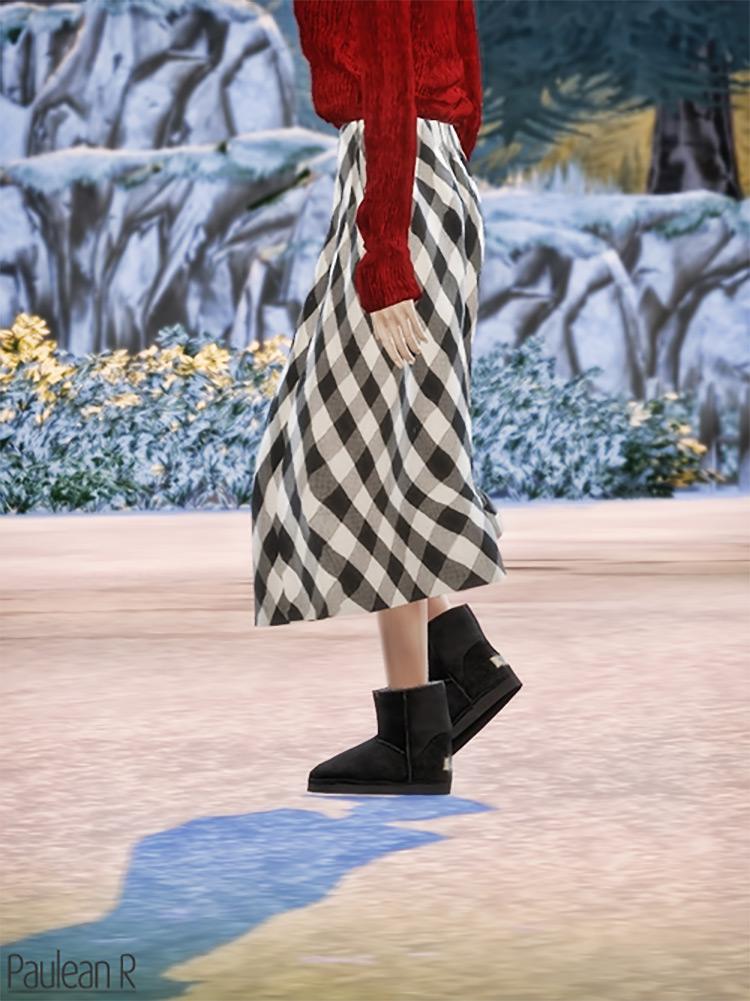 Ugg Boots Classic Mini Sims 4 CC