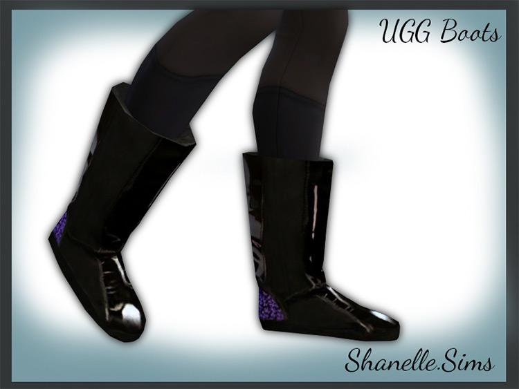 Stylish Warm Ugg Boots / TS4 CC