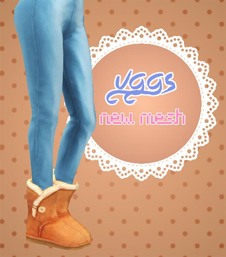 Comfy Ugg Boots / TS4 CC