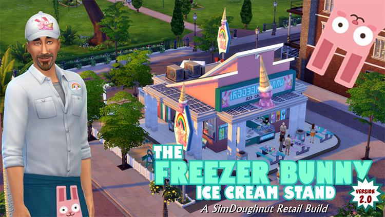Sims 4 Freezer Bunny Ice Cream Stand