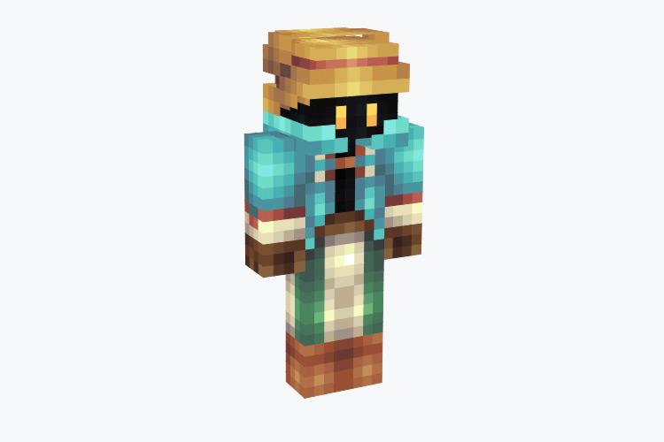 Vivi from FF9 / Minecraft Skin
