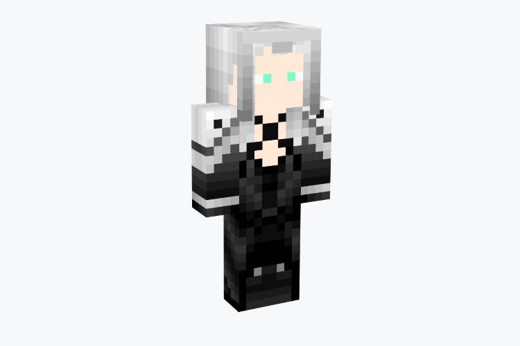 Sephiroth from FF7 / Minecraft Skin