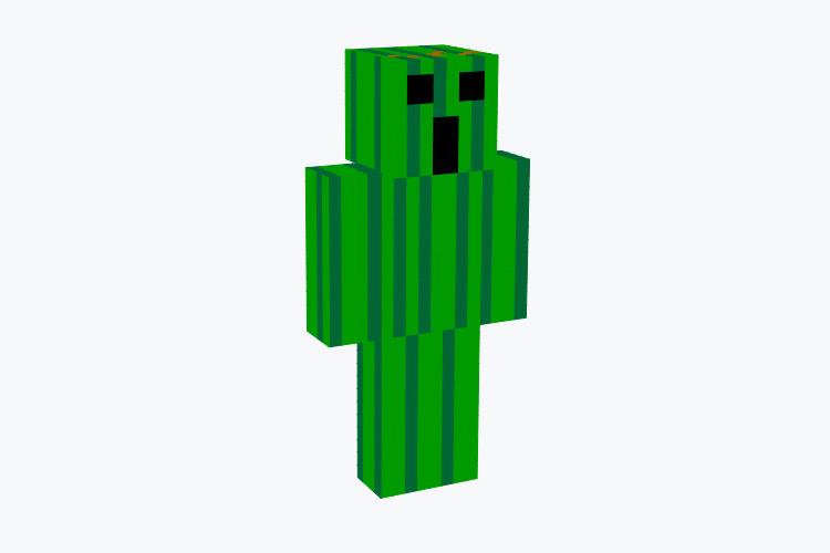 Basic Cactuar Character / Minecraft Skin